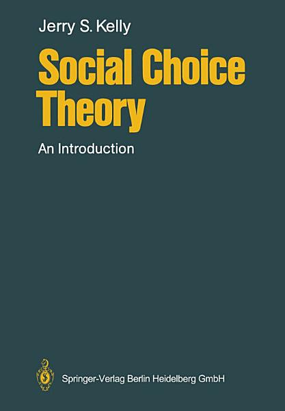 Social Choice Theory PDF