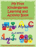 My First Kindergarten Learning and Activity Book