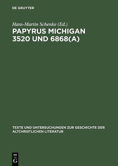 Papyrus Michigan 3520 und 6868 a  PDF