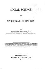 Social Science and National Economy PDF