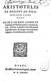 De Moribus libri X