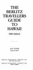 The Berlitz Travellers Guide to Hawaii PDF