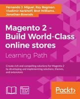 Magento 2   Build World Class online stores PDF