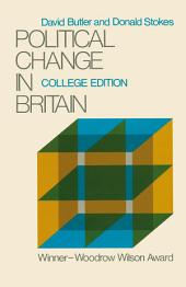 Political Change in Britain: Forces Shaping Electoral Choice