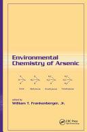 Environmental Chemistry of Arsenic