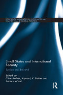 Small States and International Security