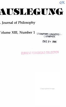 Auslegung PDF