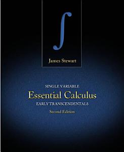 Single Variable Essential Calculus  Early Transcendentals Book