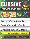 Cursive Handwriting Workbook For Kids PDF