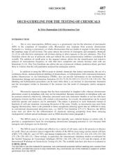 OECD Guidelines for the Testing of Chemicals, Section 4: Health Effects Test No. 487: In Vitro Mammalian Cell Micronucleus Test