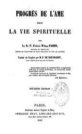Progrès de l'âme dans la vie spirituelle