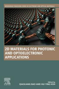 2D Materials for Photonic and Optoelectronic Applications