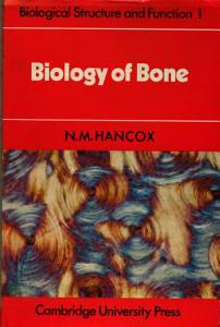 Biology of Bone Book