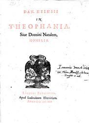 In Theophania Sive Domini Natalem Homilia Book PDF