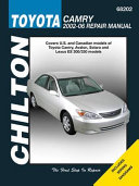 Toyota Camry PDF