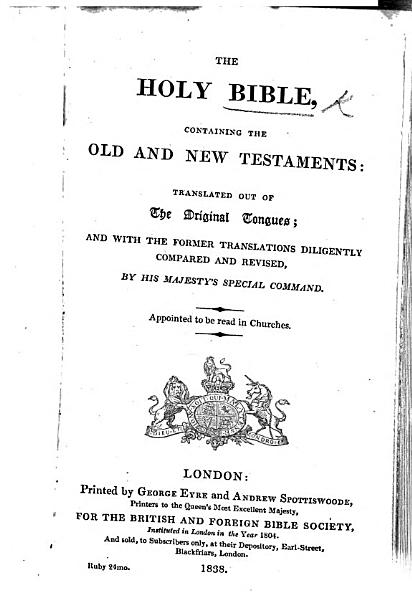 Download The Holy Bible  Etc Book