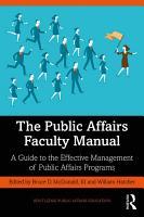 The Public Affairs Faculty Manual PDF