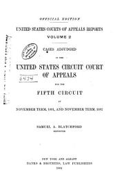 United States Courts of Appeals Reports: Cases Adjudged in the United States Circuit Court of Appeals, Volume 2