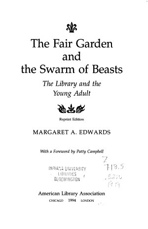 The Fair Garden and the Swarm of Beasts