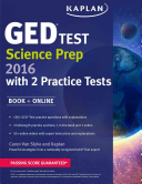 Kaplan GED® Test Science Prep 2016