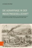 Die Agrarfrage in der Industriegesellschaft PDF