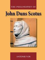 Philosophy of John Duns Scotus PDF