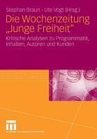 Die Wochenzeitung  Junge Freiheit  PDF