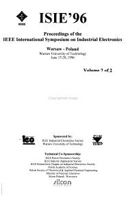 ISIE 96 PDF