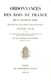 Les Ordonnances rendues depuis le mois d'Avril 1486 jusqu'au mois de Decembre 1497: 20