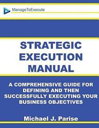 Strategic Execution Manual Book PDF