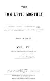 The Homiletic Review: Volume 7