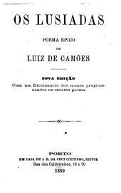 Os lusíadas: poema epico. Com um diccionario dos nomes proprios usados no mesmo poema