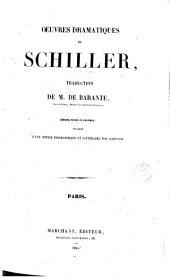 Oeuvres dramatiques de Schiller