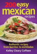 200 Easy Mexican Recipes Book PDF