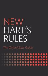 New Hart's Rules: The Oxford Style Guide, Edition 2