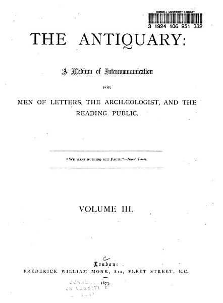 Download The Antiquary Book
