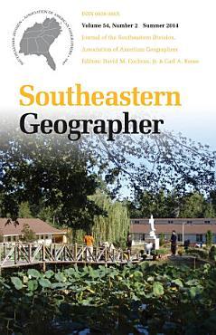 Southeastern Geographer PDF