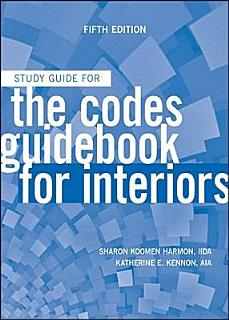 The Codes Guidebook for Interiors  Study Guide Book