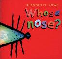 Whose Ears   Whose Feet   Whose Tail   Whose Nose  PDF