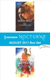 Harlequin Nocturne August 2017 Box Set: Desert Wolf\Witch's Hunger