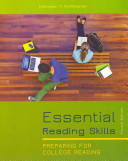 Essential Reading Skills, MyReadingLab with Pearson EText -- Valuepack Access Card, and New American Webster Handy College Dictionary Package