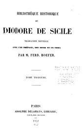 Bibliothèque historique de Diodore de Sicile: Volumes3à4