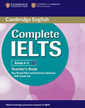 Complete IELTS Bands 4 5 Teacher s Book PDF