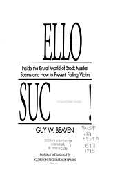 Hello Suckers  Book PDF