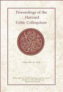 Proceedings of the Harvard Celtic Colloquium  38  2018 PDF