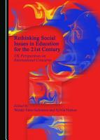 Rethinking Social Issues in Education for the 21st Century PDF