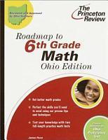 Roadmap to 6th Grade Math  Ohio Edition PDF