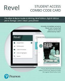 Revel for the Allyn   Bacon Guide to Writing  Complete Edition    Combo Access Card PDF