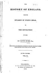 The History of England: From the Invasion of Julius Caesar to the Revolution in 1688, Volume 2