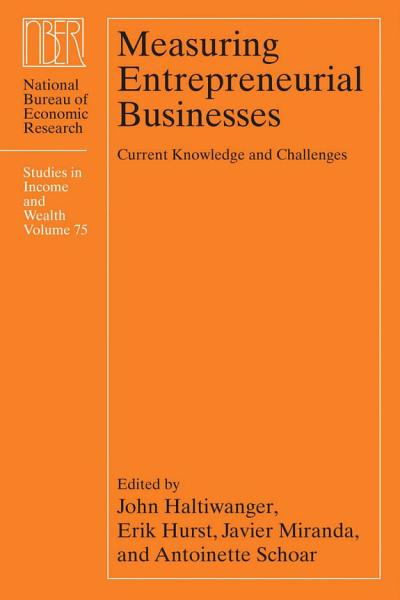 Measuring Entrepreneurial Businesses PDF